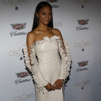 Zoe Saldana praises nanny for helping her balance work and home life