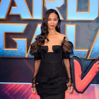 Zoe Saldana Snubs Selfies For Sons