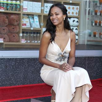 Zoe Saldana pays tribute to family at Hollywood Walk of Fame ceremony