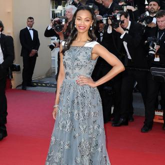 Zoe Saldana Had Secret Wedding For 'Sanity'