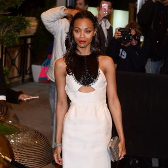 Zoe Saldana Plagued By Green Snot