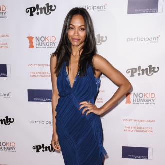 Zoe Saldana: My Husband's Tattoo Was 'Romantic'