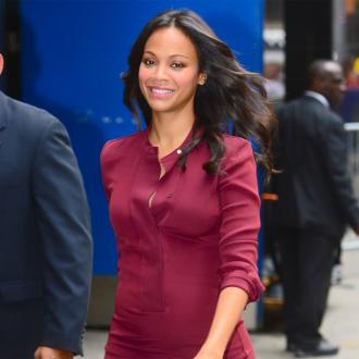 Zoe Saldana Gives Support And Love