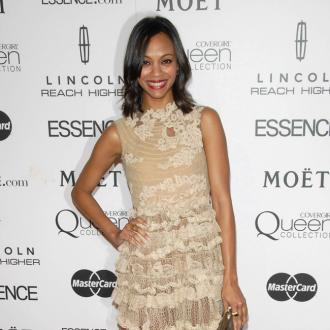 Zoe Saldana Wants Multilingual Kids