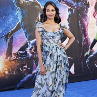 Zoe Saldana Flashed Star Trek Co-stars