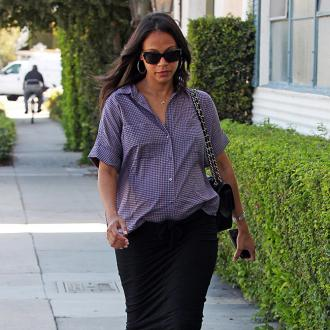 Zoe Saldana Expecting Twin Boys