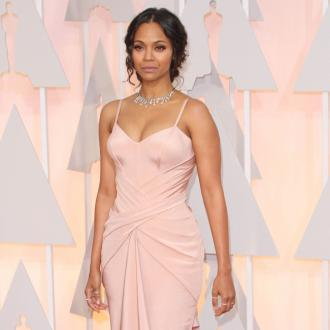 Zoe Saldana Spending Mother's Day 'In Bed'