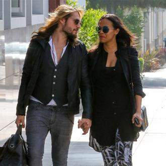 Zoe Saldana gets tattoo of husband's face