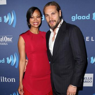 Zoe Saldana: My twins are 'total gangsters'
