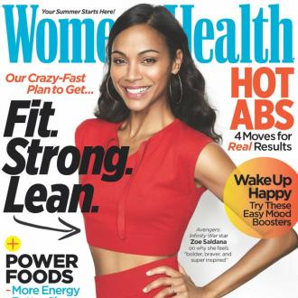 Zoe Saldana's 'Strict' Dieting
