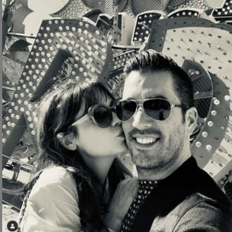 Zooey Deschanel had 'sparks' with Jonathan Scott