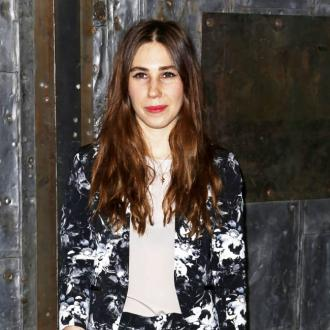 Zosia Mamet wears friends' designs