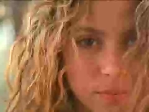 shakira upskirt video